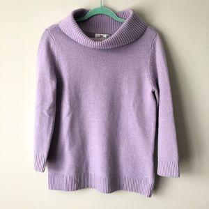 Vineyard Vines Purple Turtleneck Sweater Size M
